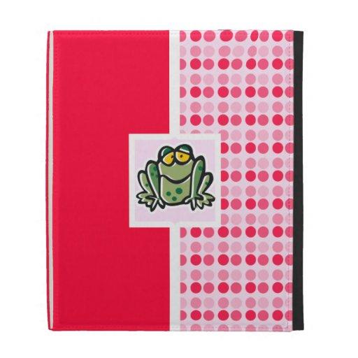 Cute Frog iPad Case