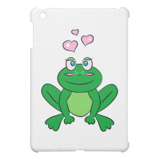 Cute frog in love case for the iPad mini