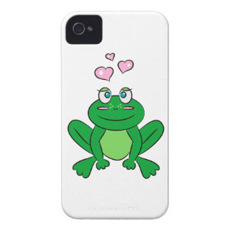 Cute frog in love iPhone 4 Case-Mate case