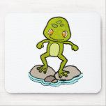 Cute frog mouse pads