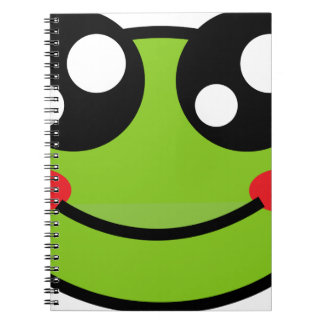 Cute Frog Notebooks