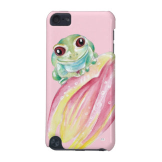 Cute Frog On Pink iPod Touch 5G Cover