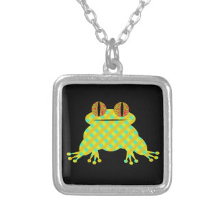 Cute Frog Silver Plated Necklace