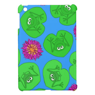 Cute frogs iPad mini covers