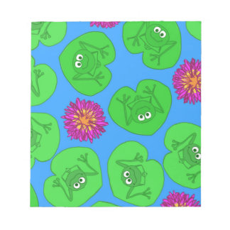 Cute frogs notepad