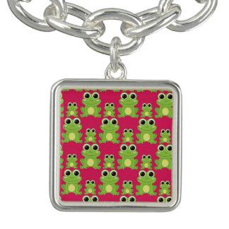 Cute frogs pattern