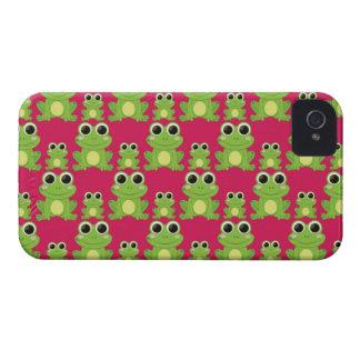 Cute frogs pattern iPhone 4 Case-Mate case