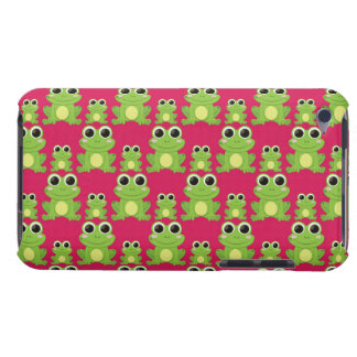 Cute frogs pattern iPod touch cover