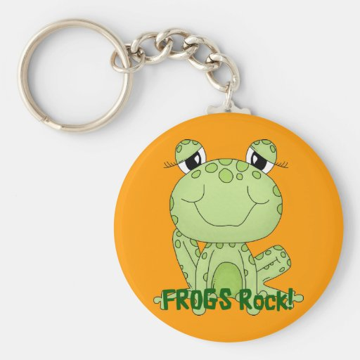 Cute Frogs Rock Love Frog Products Key Chains