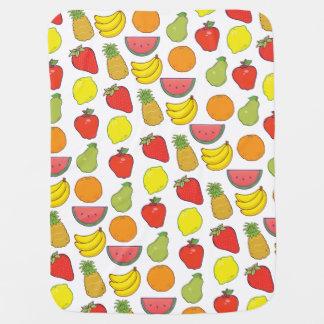 Cute Fruit Pattern Baby Blanket