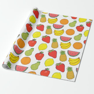 Cute Fruit Pattern Wrapping Paper
