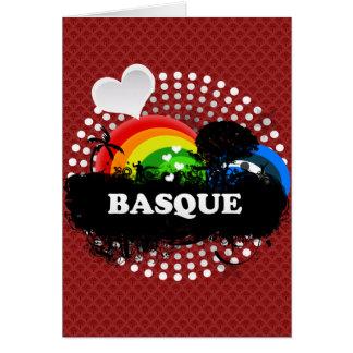 Cute Fruity Basque Card