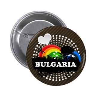 Cute Fruity Bulgaria 6 Cm Round Badge