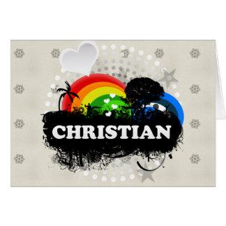 Cute Fruity Christian Card