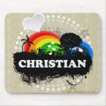 Cute Fruity Christian Mouse Pad