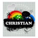 Cute Fruity Christian Print