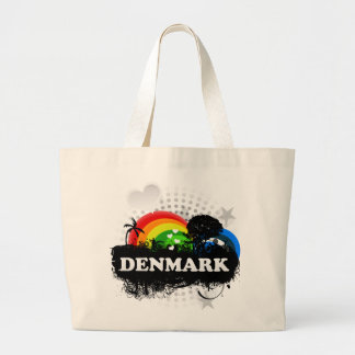 Cute Fruity Denmark Large Tote Bag
