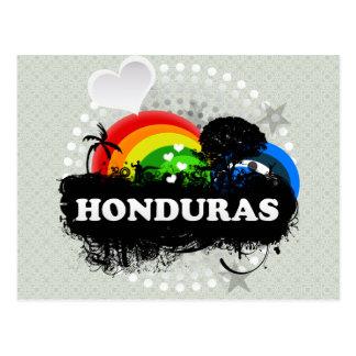 Cute Fruity Honduras Postcard