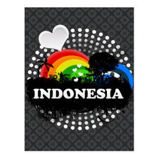 Cute Fruity Indonesia Postcard