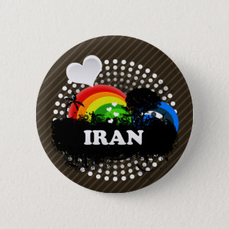 Cute Fruity Iran 6 Cm Round Badge