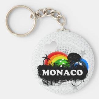 Cute Fruity Monaco Key Ring