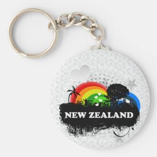Cute Fruity New Zealand Key Ring