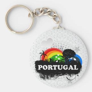 Cute Fruity Portugal Key Ring