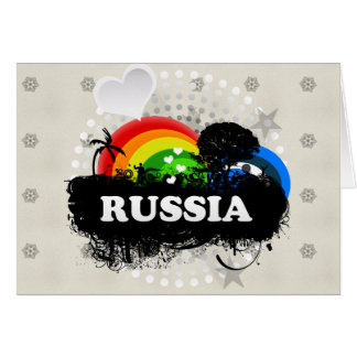 Cute Fruity Russia Card