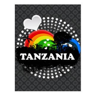 Cute Fruity Tanzania Postcard