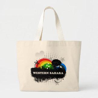 Cute Fruity Western Sahara Tote Bags