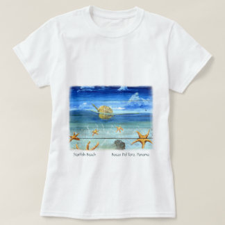 Cute Fun - Island Art – Starfish Beach T-shirt