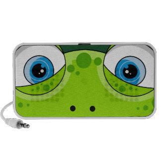 Cute Funky Frog Speakers