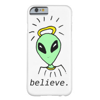 Cute Funny Alien Outer Space iPhone 6 Case