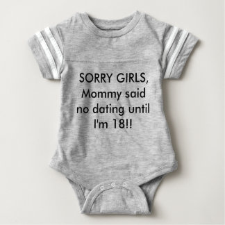 """Cute Funny Baby Outfit """"Mommy said"""" Baby Bodysuit"""