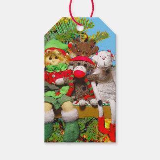 Cute funny Christmas toy elf raindeer goat
