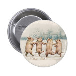 Cute, Funny Dancing Pigs - Vintage Anthropomorphic Pin