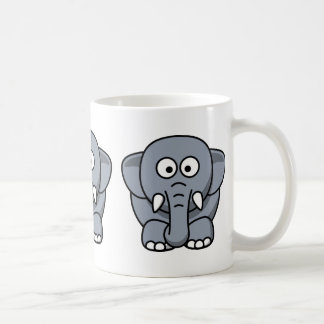 Cute Funny Elephant Coffee Mug