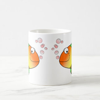 Cute Funny Fish - Colorful Coffee Mug