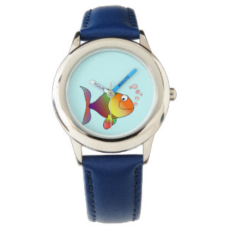 Cute Funny Fish - Colorful Watch