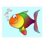 Cute Funny Fish - Colourful