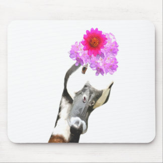 Cute funny goose animal mouse pad