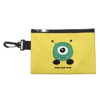 Cute Funny Green Alien Accessory Bags
