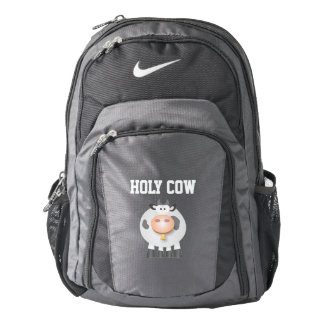 Cute Funny Holy Cow Backpack
