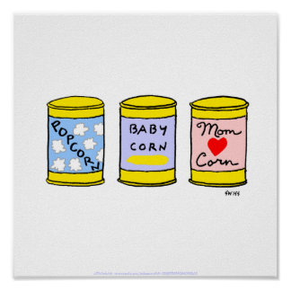 Cute Funny Kitchen Poster Especially 4 A New Mom