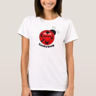 Cute Funny Love Ladybug Women's T-shirt