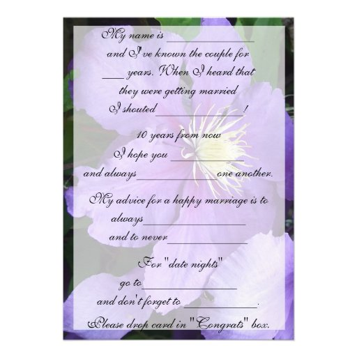 Funny Wedding Advice For The Bride And Groom