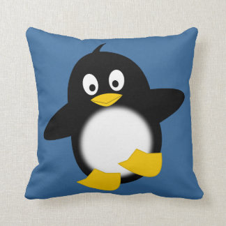 Cute Funny Penguin Pillow