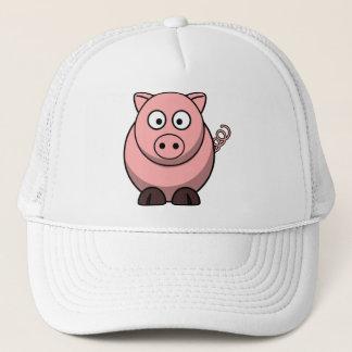 Cute Funny Pig Trucker Hat