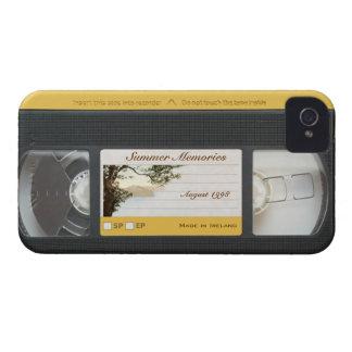 Cute Funny Retro Video Cassette Blackberry Bold iPhone 4 Case