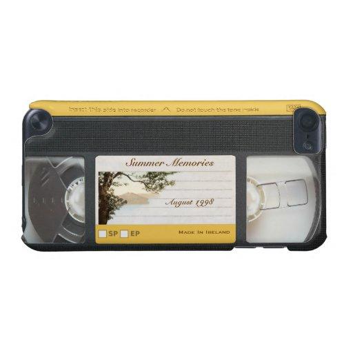 Cute Funny Retro Video Cassette iPod Touch 5G Case